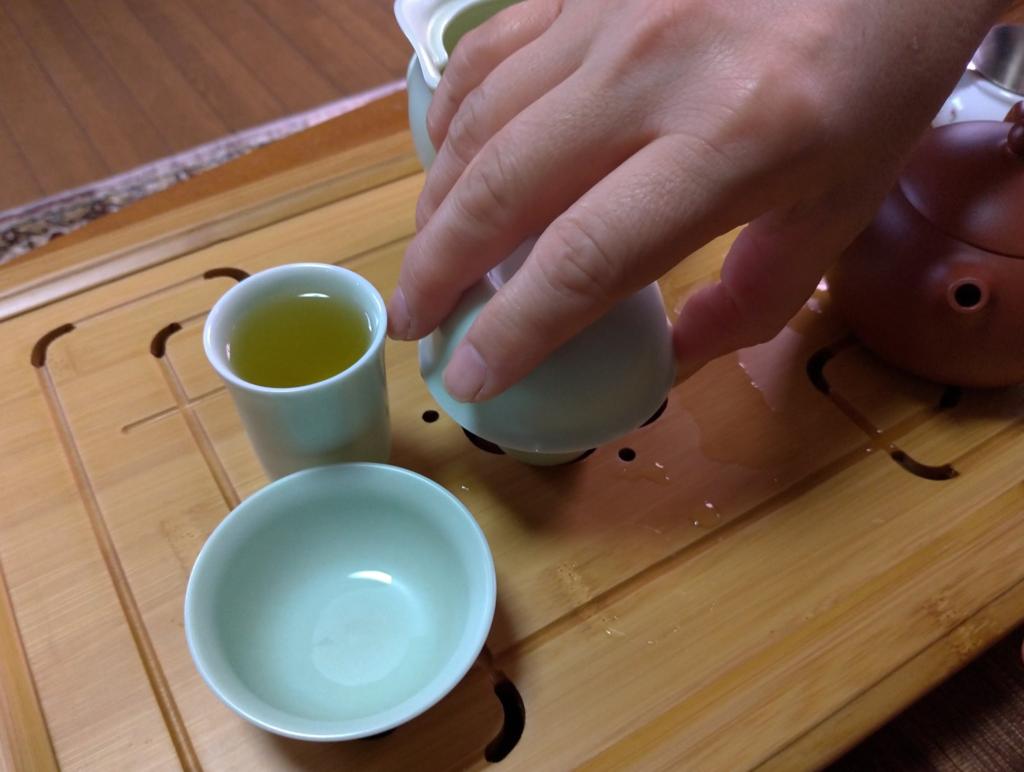 工夫茶11、茶杯へ(1)