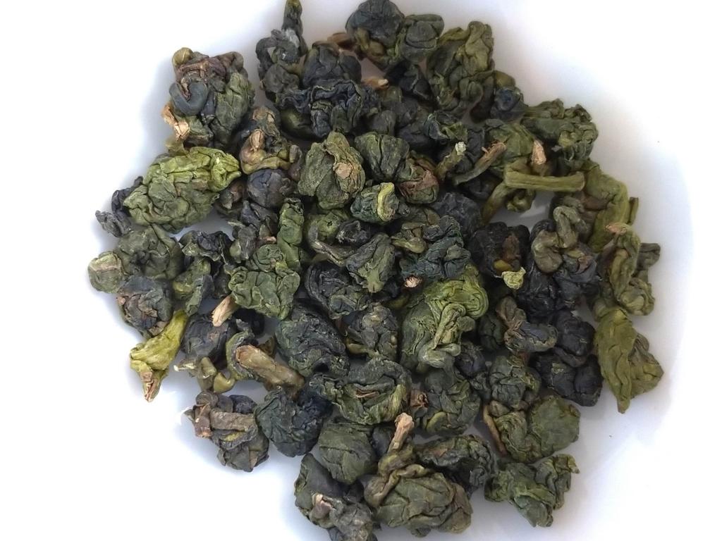 杉林渓高山茶の茶葉