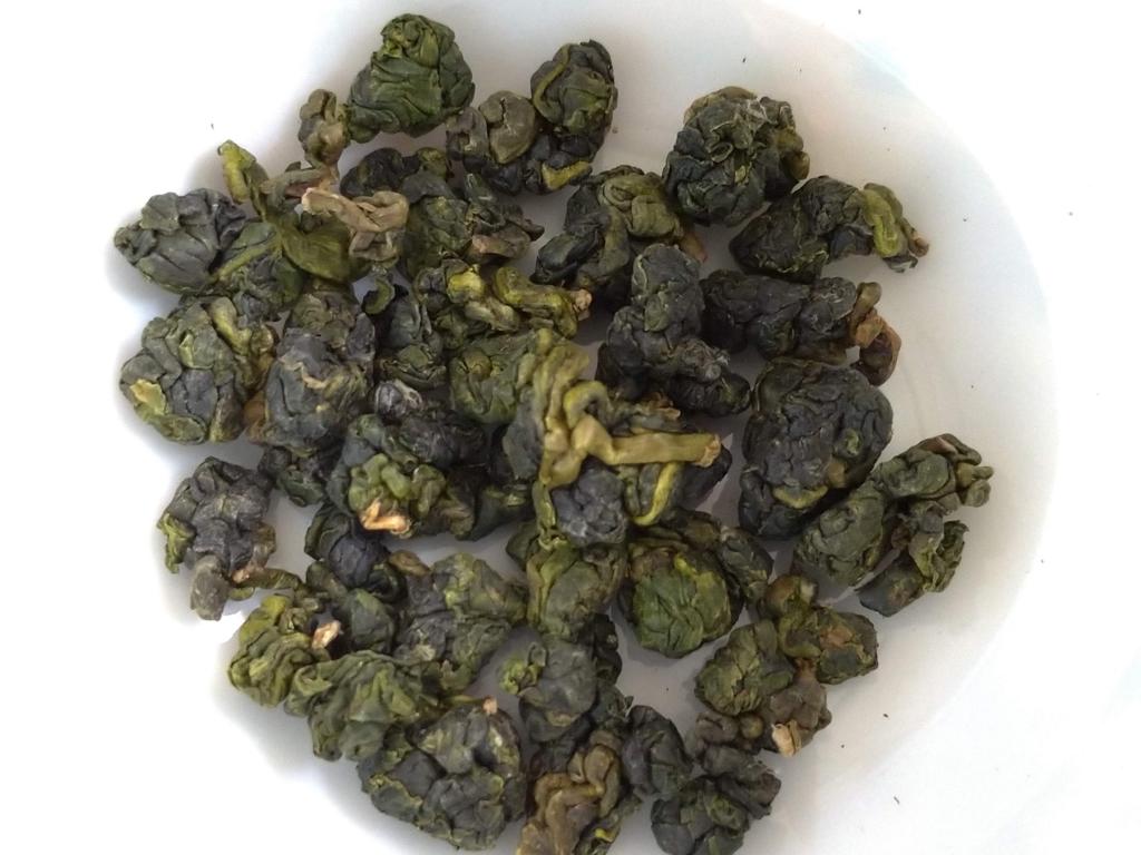 大兎嶺の茶葉
