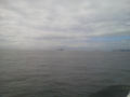 キャンプ 船上から