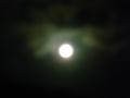 キャンプ 満月