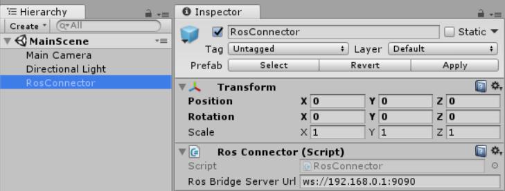 ROS#:UnityとROSの接続 - クワマイでもできる