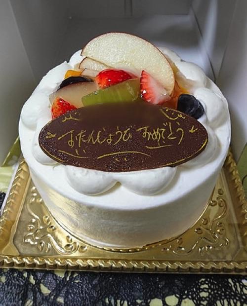 【閉店】濃厚な生クリームが2層のホールケーキ!【くるくるココロール谷山店】