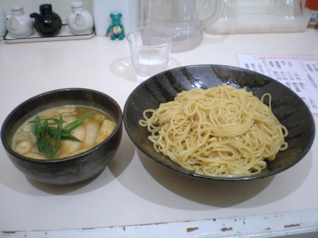 東成きんせいのカレーつけ麺(08/12/28)