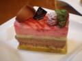 [モンシュシュ]木苺とショコラのショートケーキ