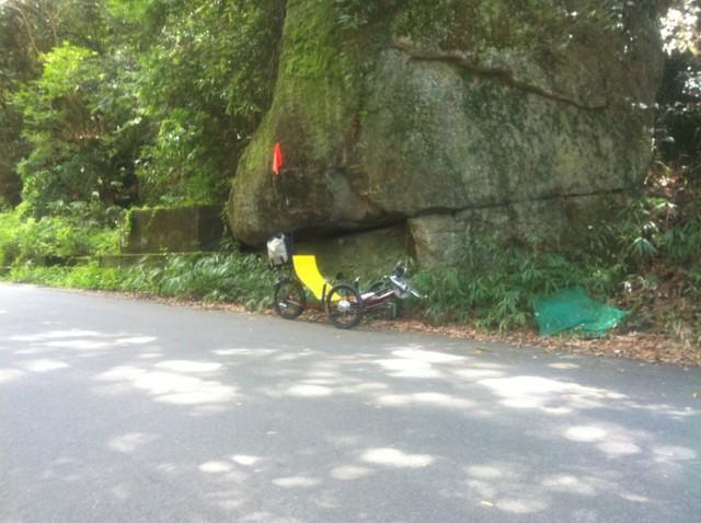 磐船神社道路挟んで 反対側