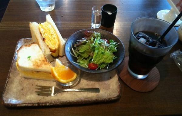 [葉山たまご][モーニング][Cafe Funchana]