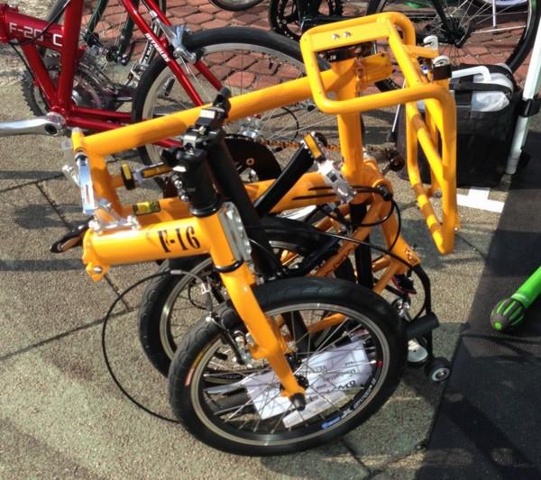 [Manhattan F16][折りたたみ自転車][スポーツバイクデモ]