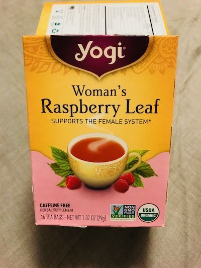 Woman's Raspberry Leaf Tea