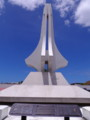 太平洋戦争中のグアムで戦死したアメリカ兵の慰霊塔