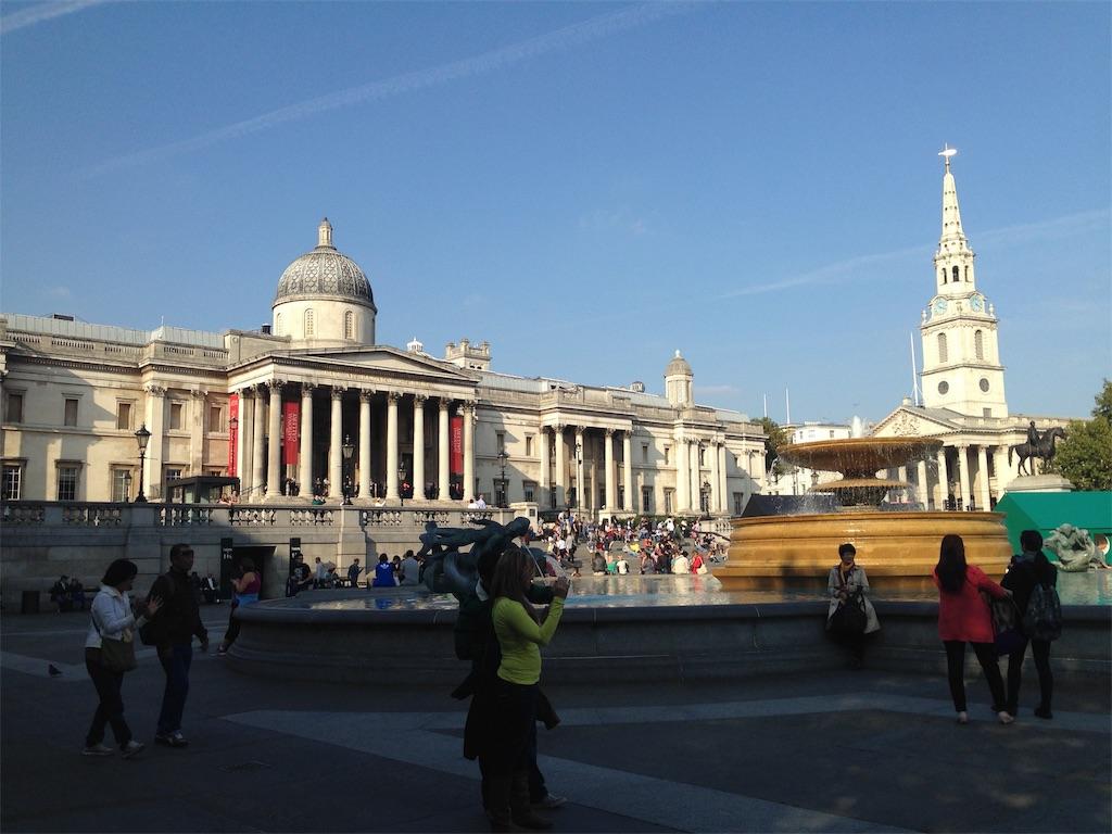 ロンドンのナショナルギャラリー