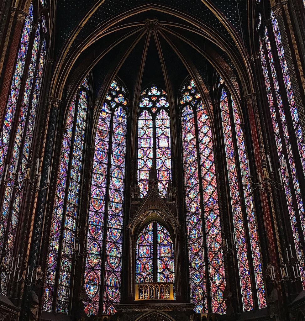 Saint Chappelle in Paris
