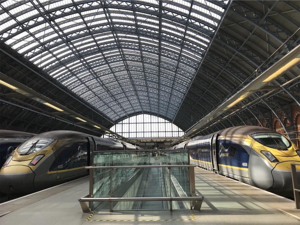 Eurostar_in_London