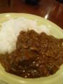 [food]ビーフカレーライス(きじむなぁ)