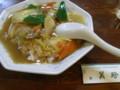 [food]半中華丼(美珍)