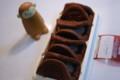 [food]ベルギーショコラのワッフル(モンテール)