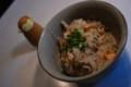 [food]鮭の土鍋炊き込みご飯