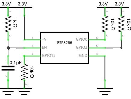 ESP8266の安定動作回路