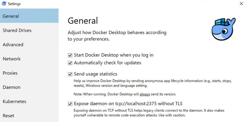 WindowsのDockerで複数のDocker Serverを運用する方法