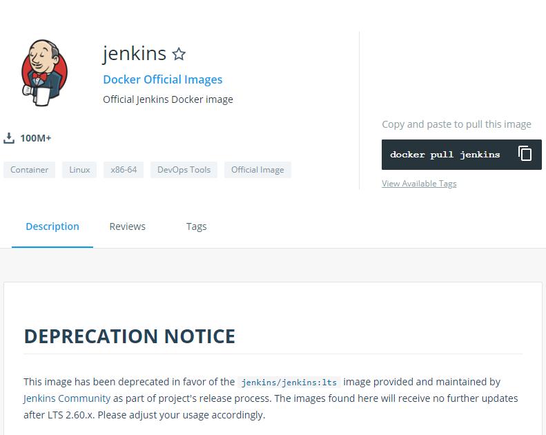 Jenkinsのdockerイメージは、Docker公式とJenkins公式の2つあるのか…