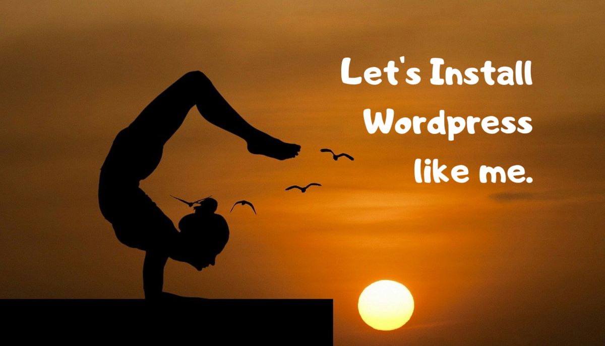 Let's install wordpress