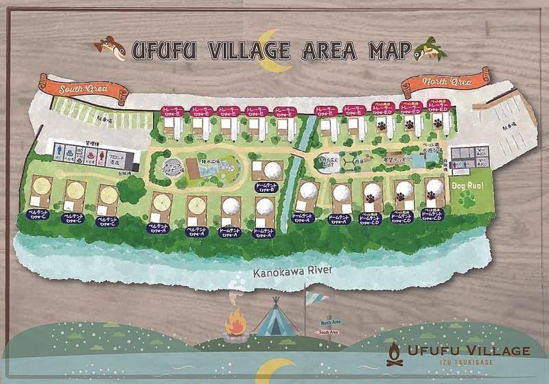 UFUFU VILLAGE AREA MAP