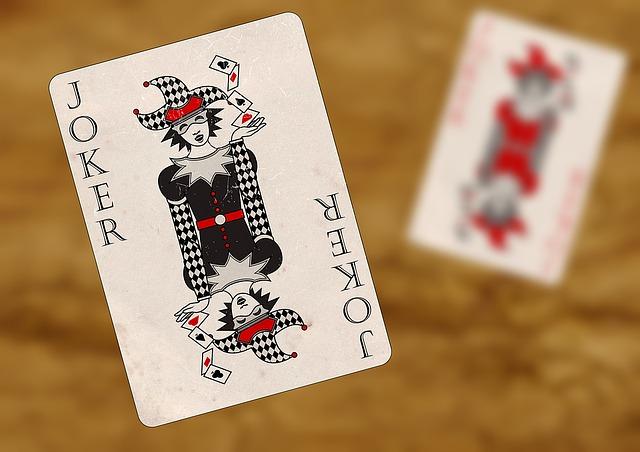 トランプカードのジョーカー