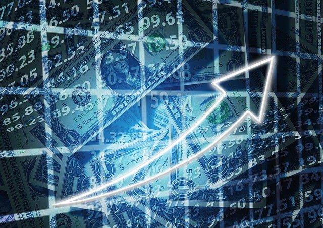 株価の上昇