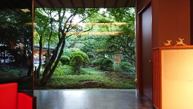 海峡の風と啄木亭から眺める日本庭園