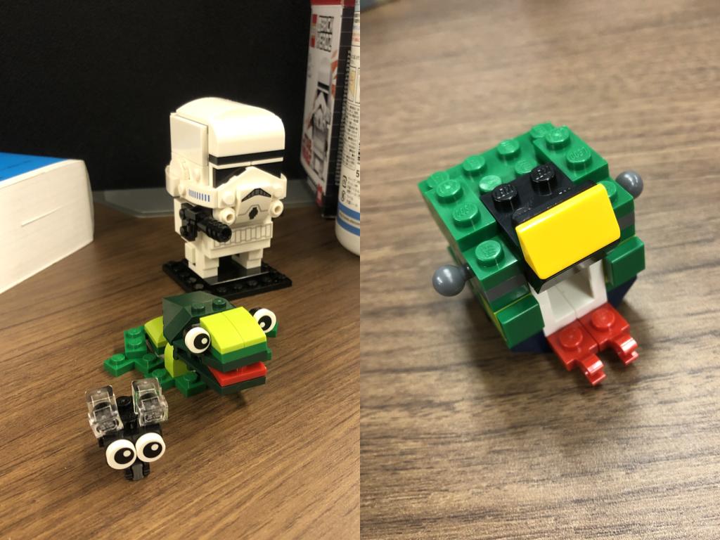 リリースが積み上がって生まれたいろんなレゴ作品