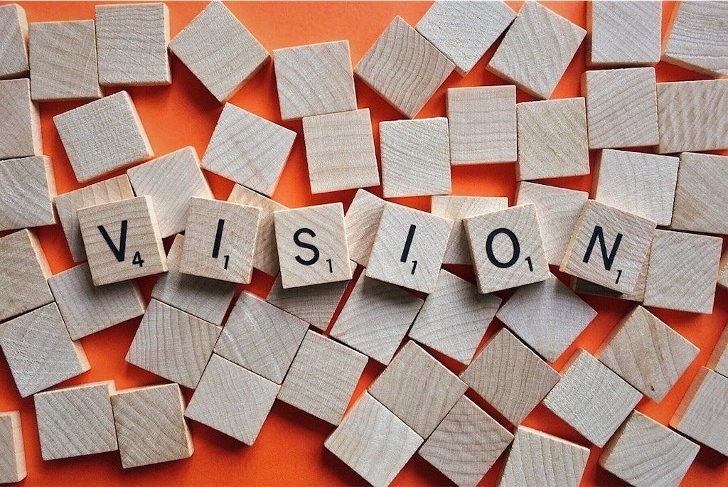 VISIONの文字