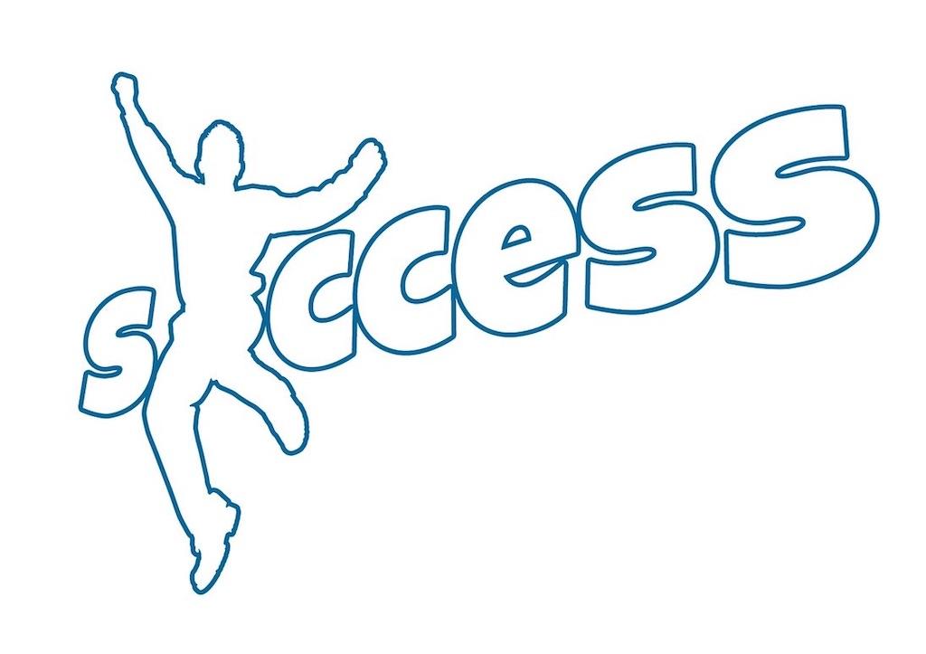 「成功」の文字