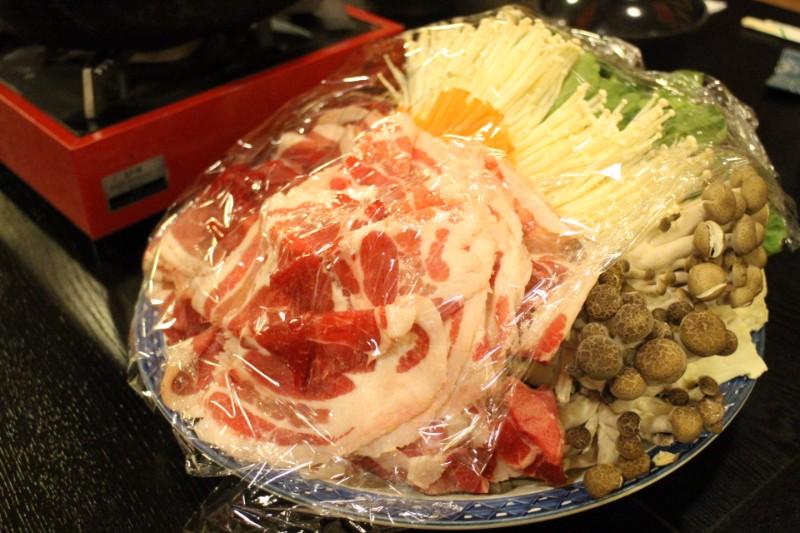 猪鍋すき焼き