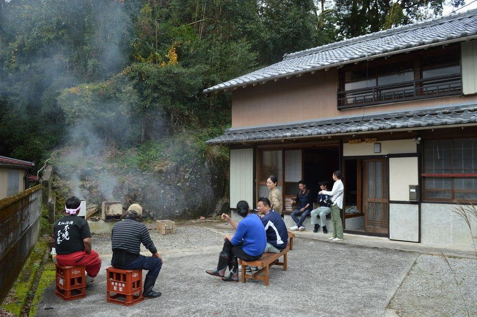 僕達が運営している三重県の宿先で