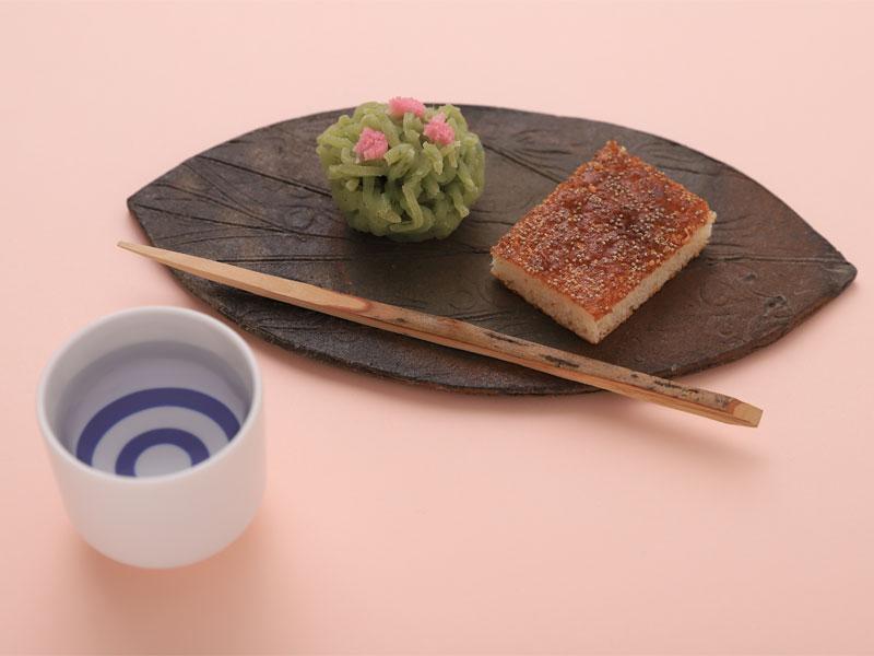 日本酒と和菓子