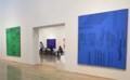 ニューヨーク時代の抽象画