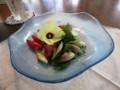 オクラの花サラダ