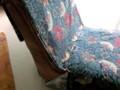 生地を椅子に合わせて