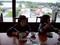 千波湖の見える中華レストラン