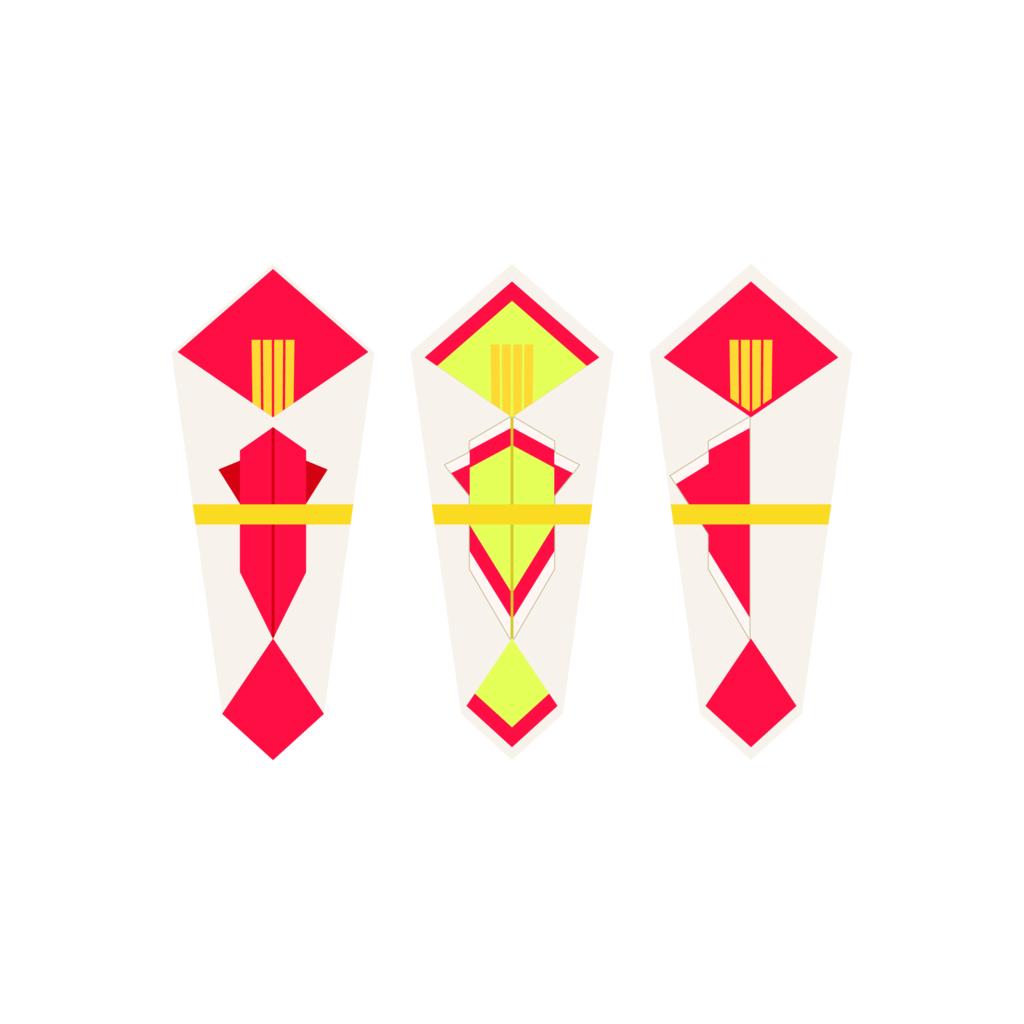 水引とセットで使う熨斗(のし)の画像