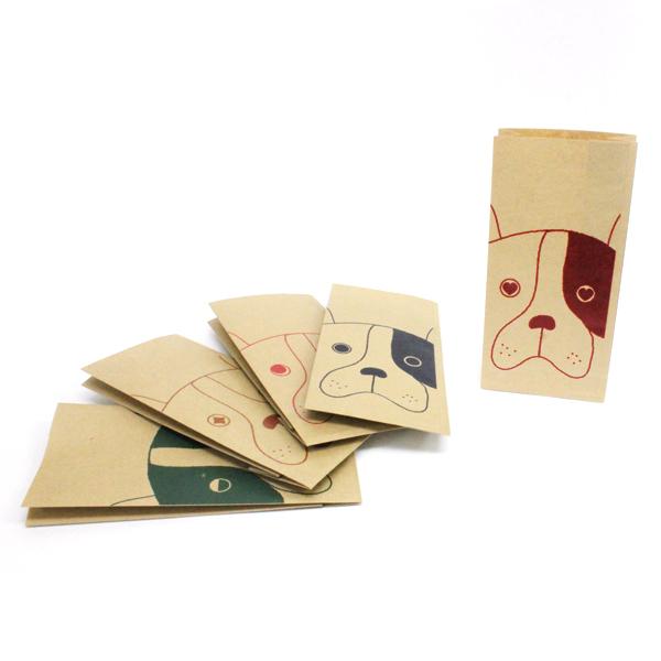 【おしゃれすぎる紙袋!】クラフト犬がかわいいすぎてたまらない