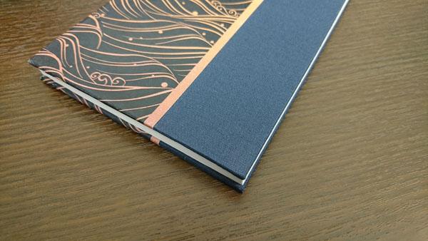 京都かみんぐ御朱印帳の素材