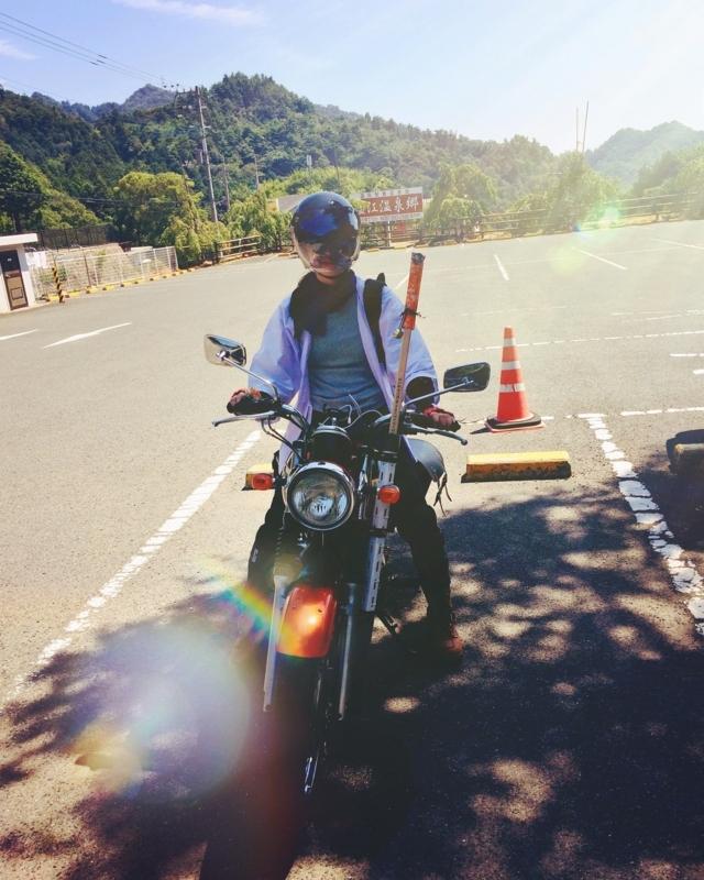 お遍路-バイク-バイクお遍路-結願-遍路バイク-バイク女子-四国お遍路-大窪寺