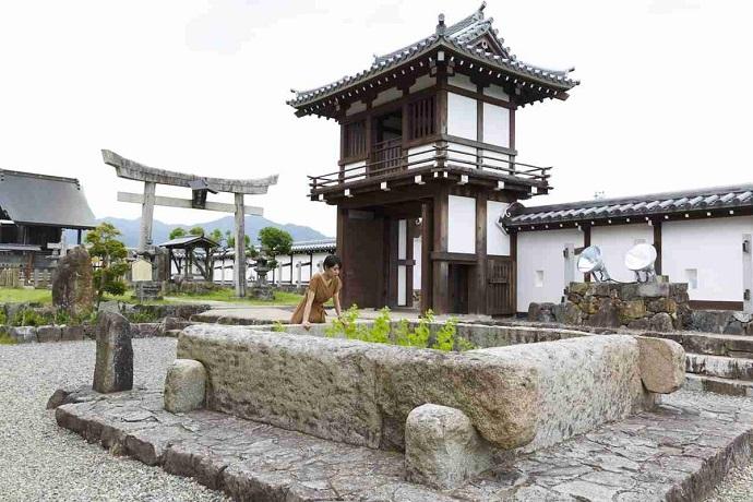 福知山城の井戸