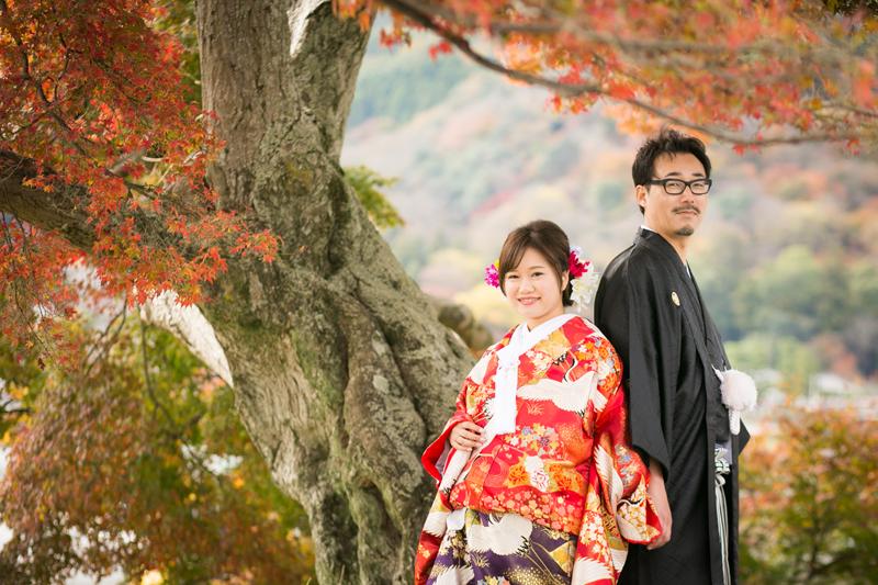 前撮り 紅葉の季節フォト|京都ロケーション前撮 …
