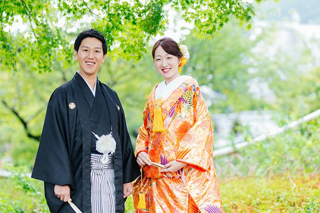 秋に結婚式がある皆さまは9月か10月に和装前撮りが