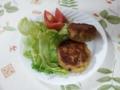 キノコと豚バラ肉のカツ