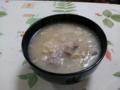 湯葉と鶏のレンコンスープ