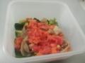 トマト酢の豚しゃぶサラダ