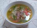 ピーマンのスープ
